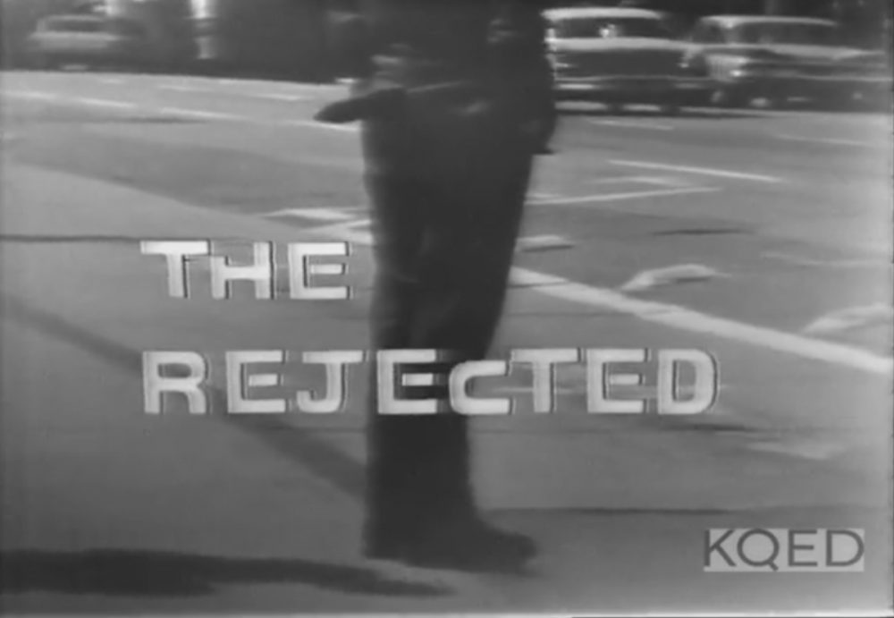 """The Rejected"" was one of the first television documentaries to openly address sexual orientation. (KQED)"