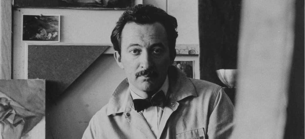 A portrait of David Aronson in 1956. (Courtesy Ann Braithwaite)