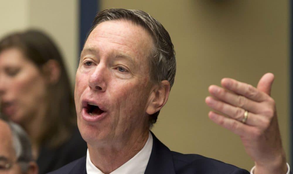 Rep. Stephen Lynch, D-Mass. speaks on Capitol Hill in Washington. (Carolyn Kaster/AP)