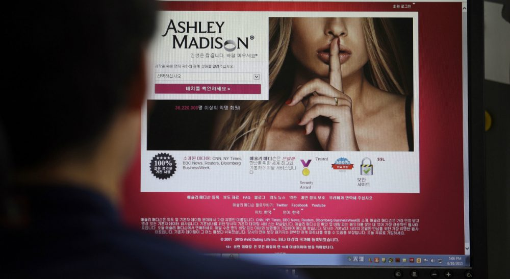 An open letter to the online adultery site from someone who is totally not a member. (Lee Jin-man/AP)