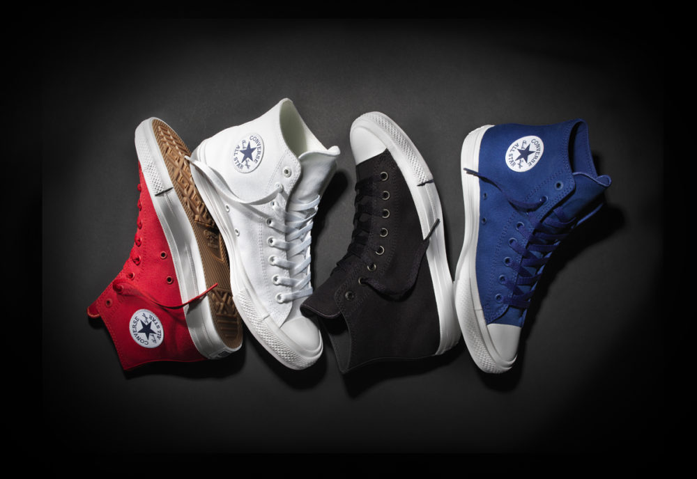 cdb2344bfd90 Converse Chuck Taylor All Star II high-tops (Courtesy Converse)