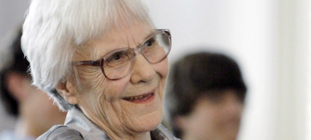 "In this Aug. 20, 2007, photo, ""To Kill A Mockingbird"" author Harper Lee smiles during a ceremony honoring the four new members of the Alabama Academy of Honor, at the state Capitol in Montgomery, Ala. (Rob Carr/AP)"