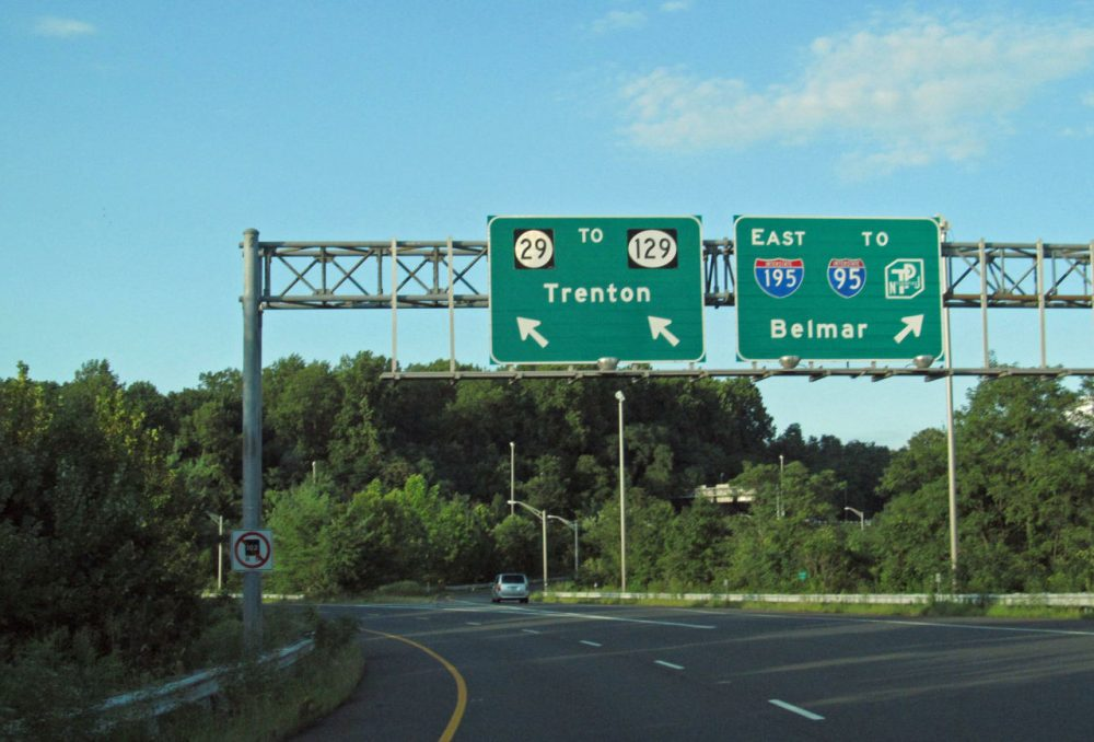 """According to TRIP, a national transportation research group, 48 percent of roads in Trenton, New Jersey, are in """"poor"""" condition. (dougtone/Flickr)"""