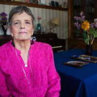Mary Esther Rohman tried to commit suicide many times when she was younger. But now, she's in a very different place. (Jesse Costa/WBUR)