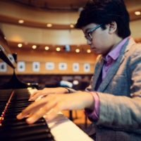 Joey Alexander, 12-year-old jazz pianist, will be at the Newport and Rockport Jazz Festivals this August. (Rebecca Meek)