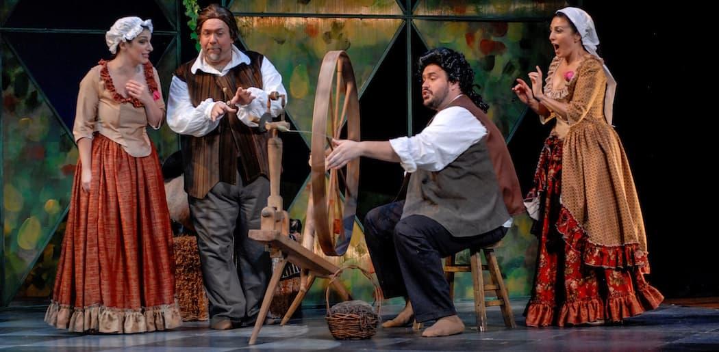 "Boston Midsummer Opera's ""Martha"" Cast (Courtesy Boston Midsummer Opera)"