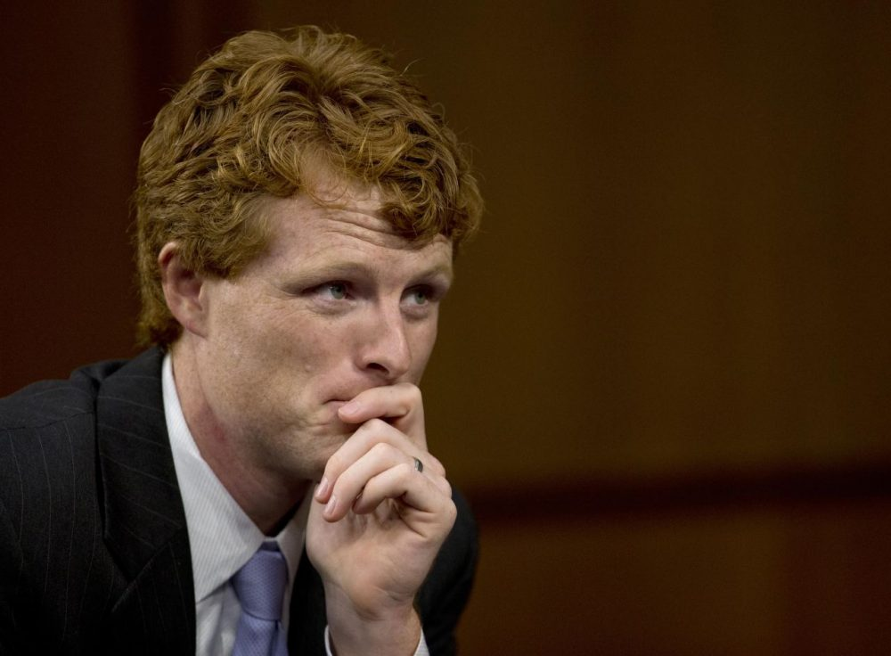 Rep. Joe Kennedy III during a 2013 Senate Foreign Relations Committee. (Carolyn Kaster/AP)