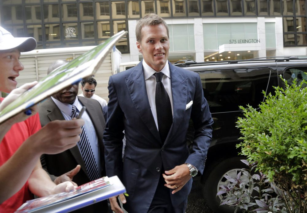 Tom Brady appealed his four-game suspension in late June.  (Mark Lennihan/AP)
