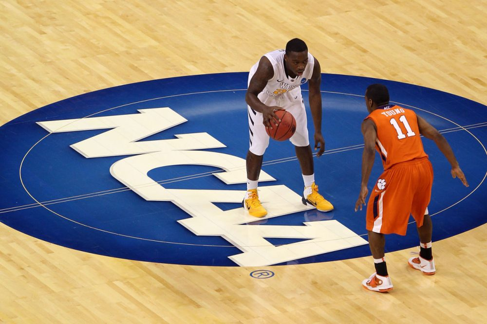 Ed O'Bannon and 19 others sued the NCAA claiming the organization violated U.S. antitrust laws. This week, a judge ordered the NCAA to dole out $46 million in lawyer fees. (Mike Ehrmann/Getty Images)