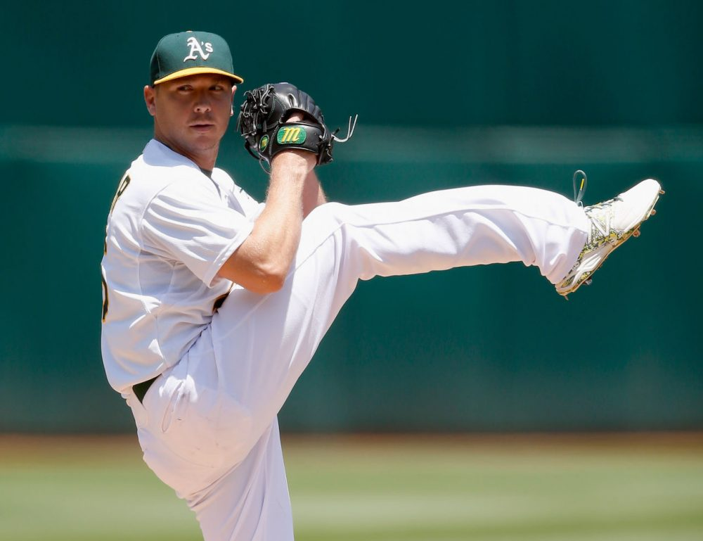 The Houston Astros traded for pitcher Scott Kazmir this week. Only A Game analyst Charlie Pierce and Shira Springer discuss whether the trade means the 'Stros are going all-in for a World Series title?  (Bob Levey/Getty Images)