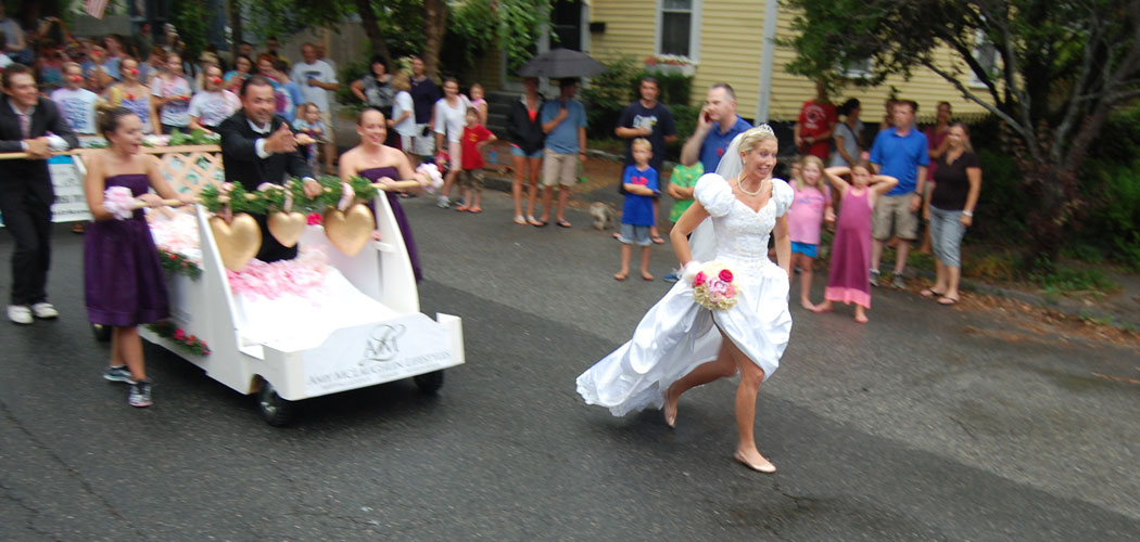 """The runaway bride by Amy McLaughlin Lifestyles won """"best in show."""" (Greg Cook)"""