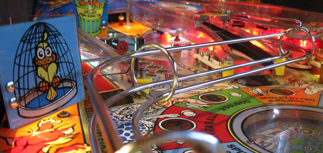 Pintastic New England is a new showcase of pinball games. (Eric Bundy)