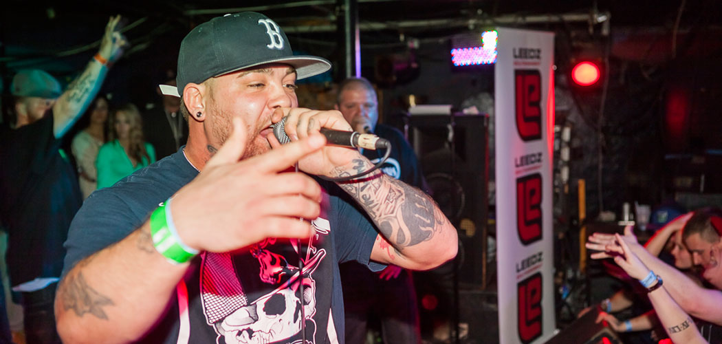 Rite Hook, one of the performers on the bill for the Boston Hip-Hop Fest. (Isaac Remsen)