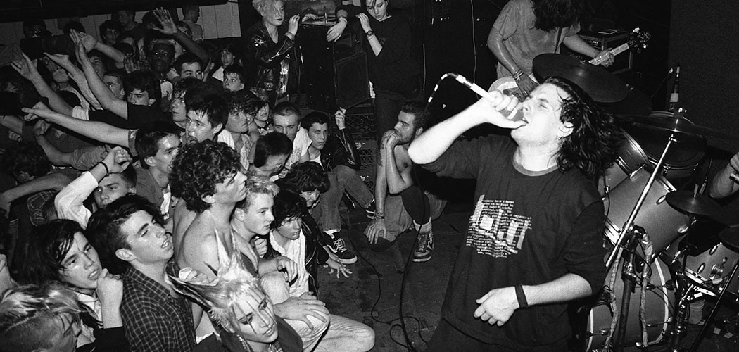 7Seconds performs at T.T. the Bear's in 1987. (JJ Gonson)