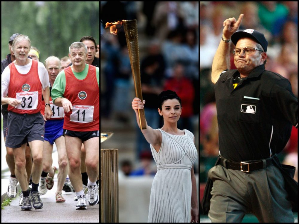 Finland's exercise craze, Athens as a permanent site for the summer Olympics, and robotic umpires? (Getty Images)