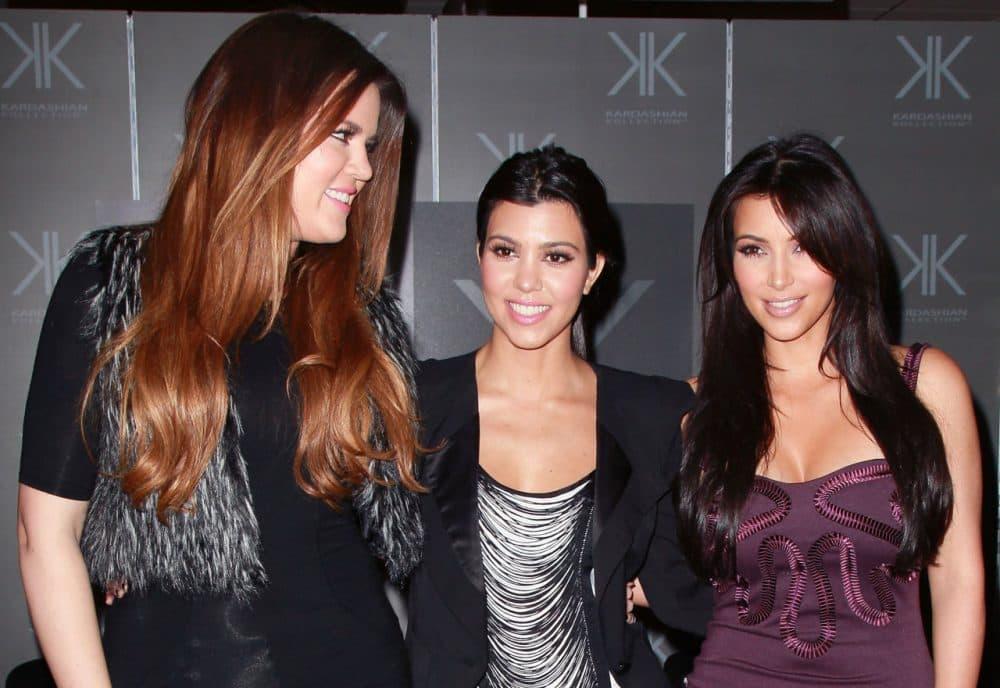 Among those known for vocal fry: the Kardashians. From left: Khloe Kardashian, Kourtney Kardashian and Kim Kardashian in September 2011 in Cerritos, California. (David Livingston/Getty Images)