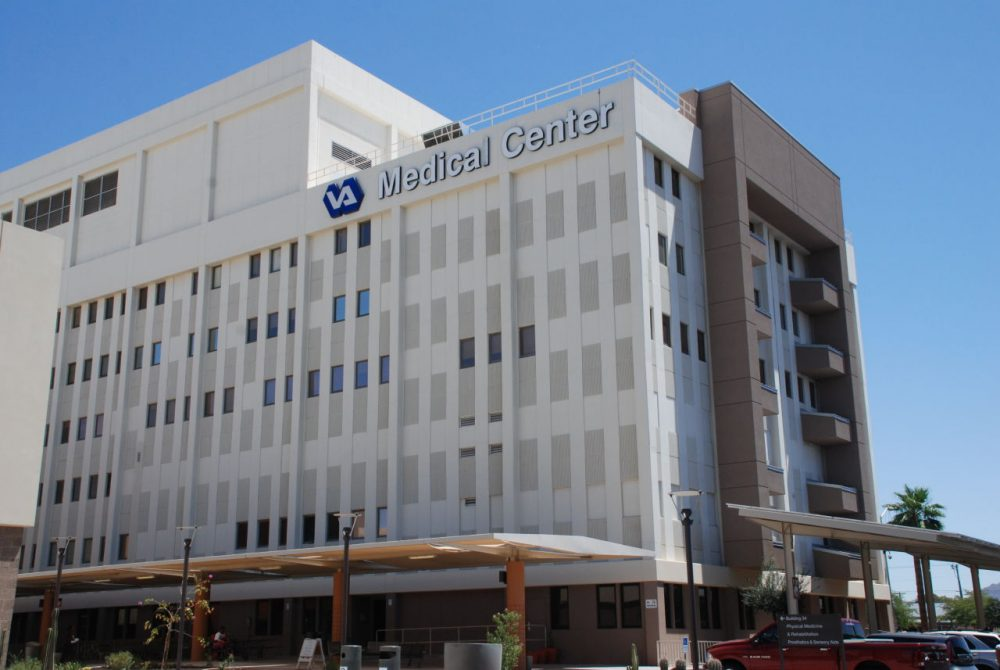 Many Veterans of the Vietnam War are now seeking mental health counseling at the Phoenix VA for PTSD they've been struggling to deal with for decades. (Stina Sieg/KJZZ)