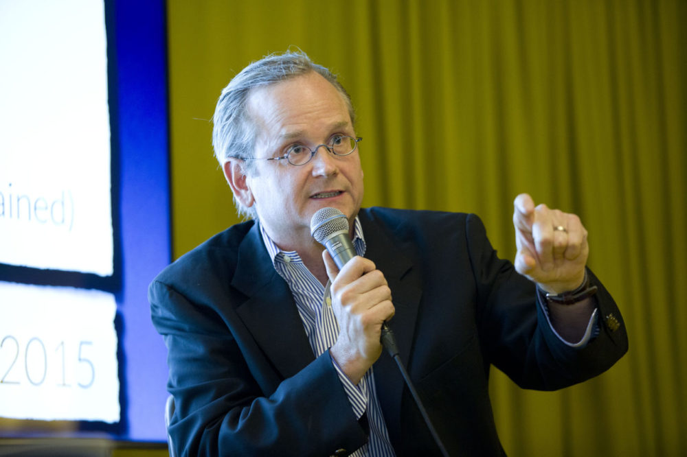 Lawrence Lessig at the Innotech Summit in London. (Innotech Summit/Flickr)