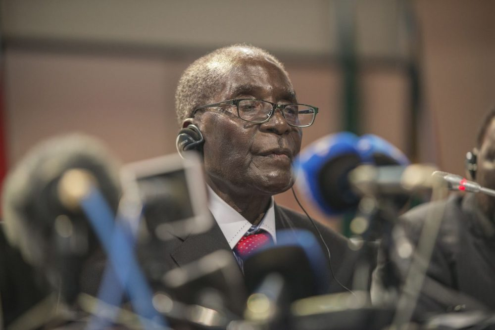 Now 91, any wonder how much longer Zimbawean President Robert Mugabe, who is 91 and has held the office since 1980, will be in power. (Mujahid Safodien/Getty Images)