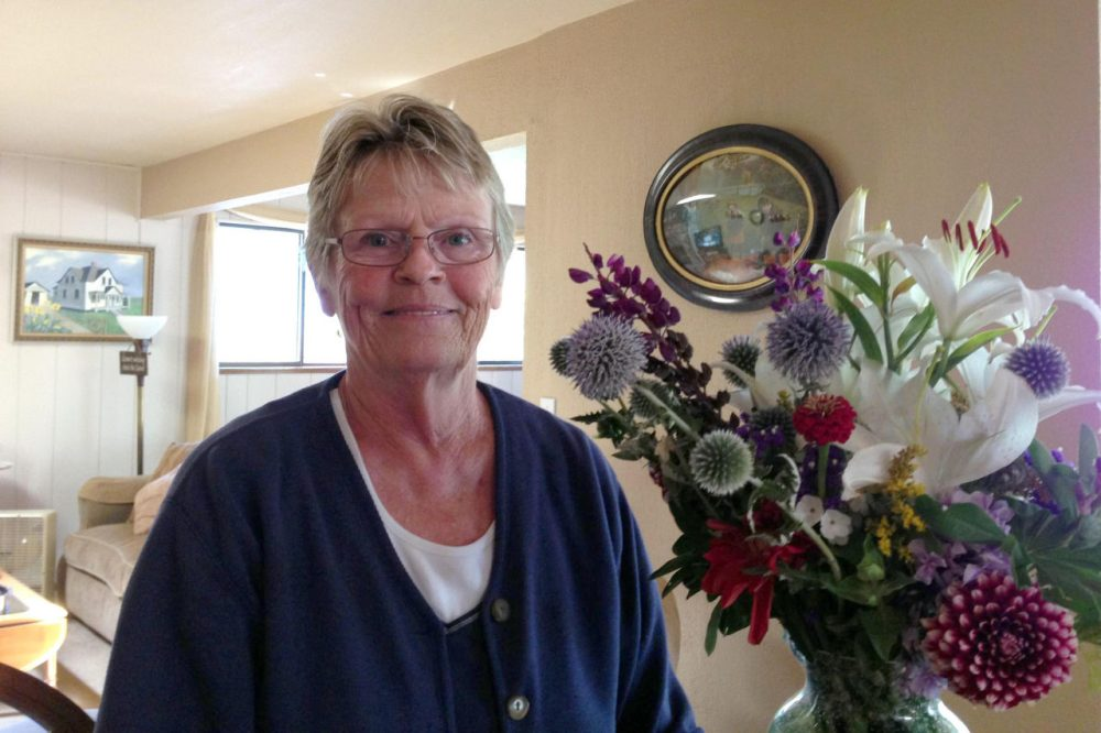 Mountlake Terrace resident Jennifer Calnon, 67, recently discussed her advance directive with her doctor. Starting January, Medicare plans to pay physicians for end of life counseling. (Ruby de Luna/ KUOW)
