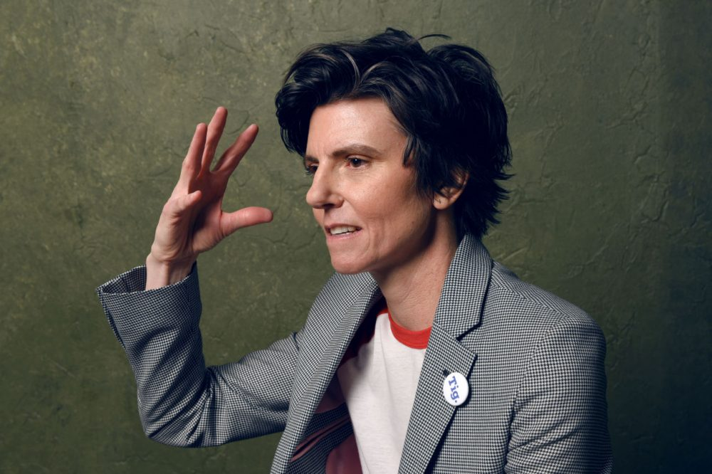 Executive producer and film subject Tig Notaro of 'Tig' poses for a portrait at the Village at the Lift Presented by McDonald's McCafe during the 2015 Sundance Film Festival on January 26, 2015 in Park City, Utah. (Larry Busacca/Getty Images)