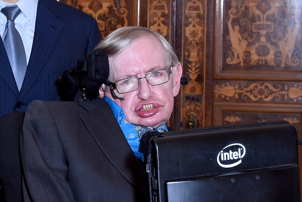 Theoretical physicist Stephen Hawking is pictured on July 20, 2015 in London, England. (Stuart C. Wilson/Getty Images for Breakthrough Initiatives)