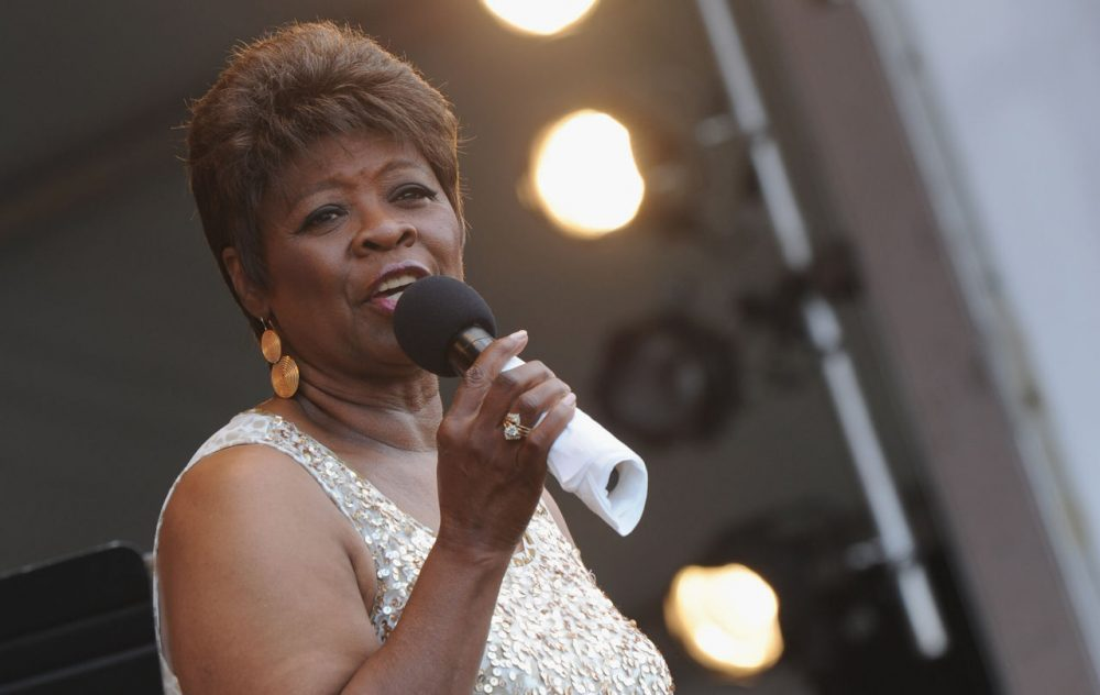 Irma Thomas performs during the 2012 New Orleans Jazz & Heritage Festival on May 5, 2012 in New Orleans, Louisiana. (Rick Diamond/Getty Images)