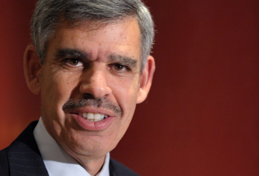 Mohamed El-Erian, chief economic adviser at Allianz, is pictured in Paris on November 7, 2014. (Eric Piermont/AFP/Getty Images)