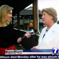 As we agonize over whether to watch the video of the WDBJ shootings, are we asking ourselves the wrong question? In this screengrab, reporter Alison Parker conducts a live on-air interview with Vicki Gardner on Aug. 26, 2015 in Moneta, Va. Moments later, suspect Vester Flanagan fatally shot Parker, and the man behind the camera, Adam Ward. Gardner was injured in the shooting. (YouTube)