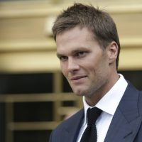 New England Patriots quarterback Tom Brady leaves federal court Aug. 12, 2015, in New York. Brady left the courthouse after a full day of talks with a federal judge in his dispute with the NFL over a four-game suspension. (Mary Altaffer/AP)