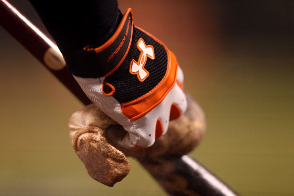 Bill Littlefield remembers when he helped the San Francisco Giants manufacture a comeback. Bill was batting for the players in his bedroom. (Christian Petersen/Getty Images)