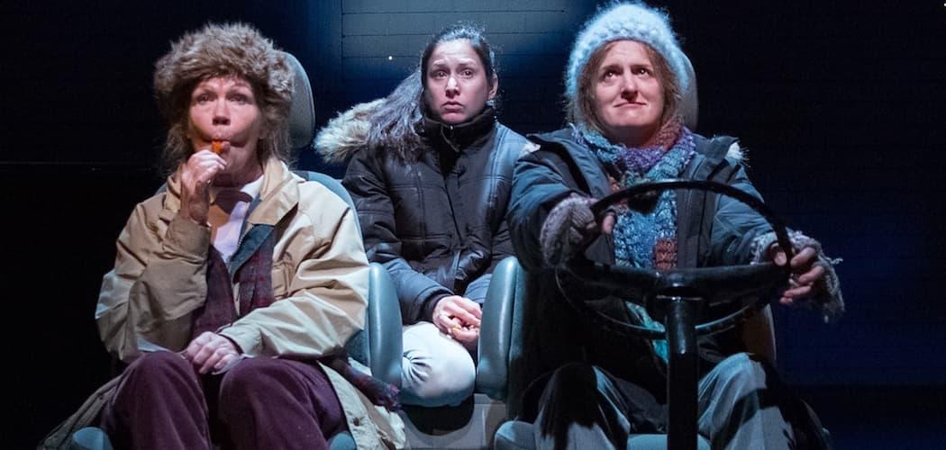 (L-R) Linda Gehringer, Ariana Venturi and Keira Naughton (Michelle McGrady)