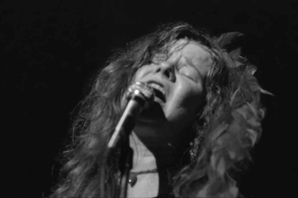 Amateur photographer Peter Warrack shot photos of Janis Joplin performing at Harvard Stadium, August 12, 1970. (Courtesy House of Roulx)
