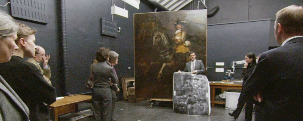 """The care required to restore and preserve paintings  takes center stage in """"National Gallery."""" (Courtesy Zipporah Films)"""