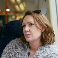 "Paula Hawkins, author of ""The Girl on the Train."" (Kate Neil)"