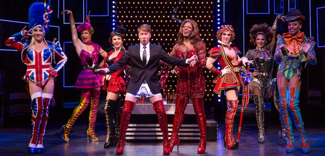 """The ensemble of the touring production of """"Kinky Boots""""  (Matthew Murphy)"""