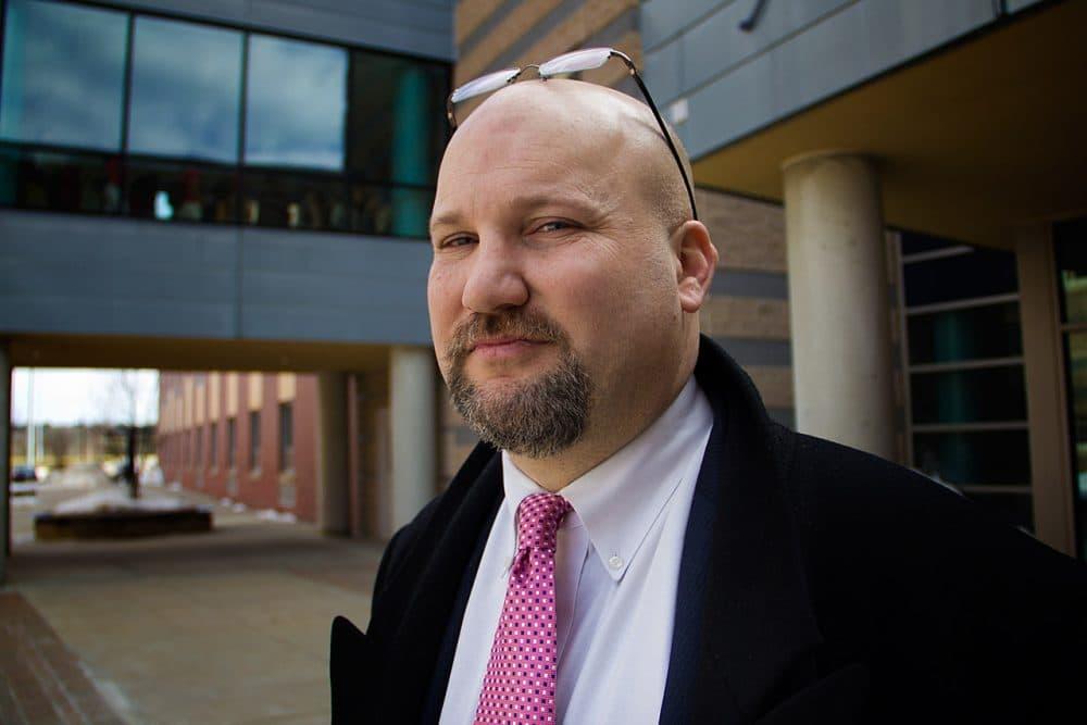 Jeff Riley, the receiver of Lawrence schools (Laura Amico/WBUR)