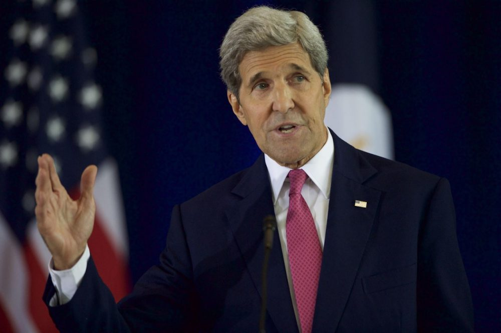 U.S. Secretary of State John Kerry delivers a speech on the nuclear agreement with Iran at the National Constitution Center on September 2, 2015 in Philadelphia, Pennsylvania. U.S. Sen. Barbara Mikulski (D-MD) announced her support for the Iran nuclear deal, becoming the 34th Democratic senator to back the president. (Mark Makela/Getty Images)