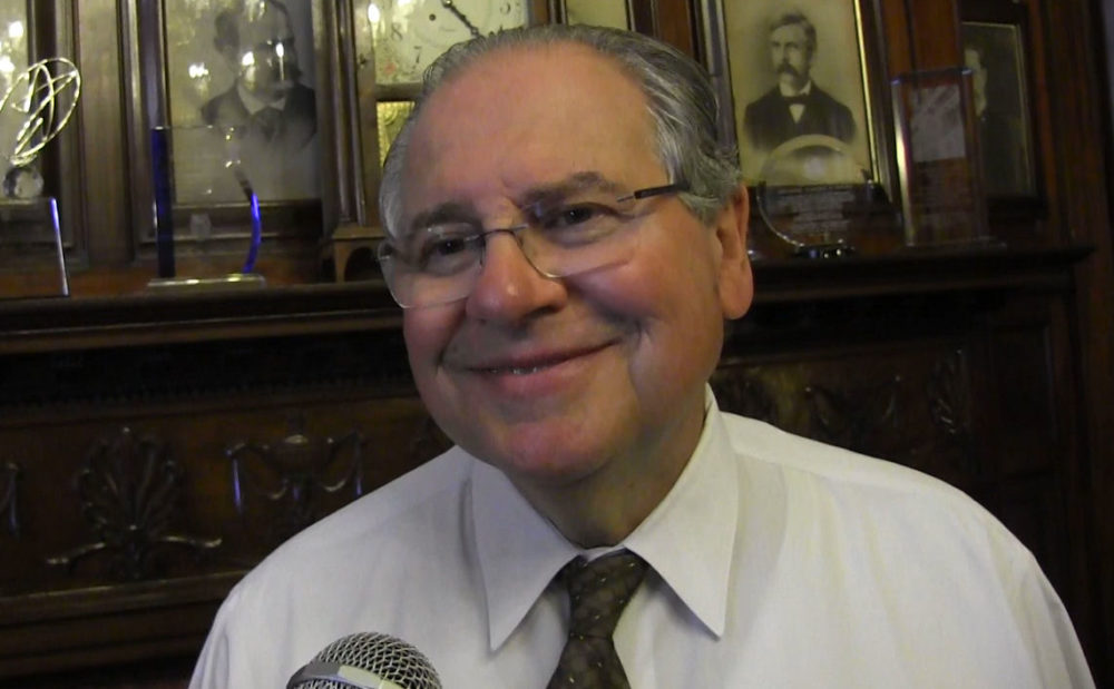 House Speaker Robert DeLeo said Tuesday that he's at the top of his game after weight loss surgery and plans to run for re-election in 2016. (Antonio Caban/State House News Service)
