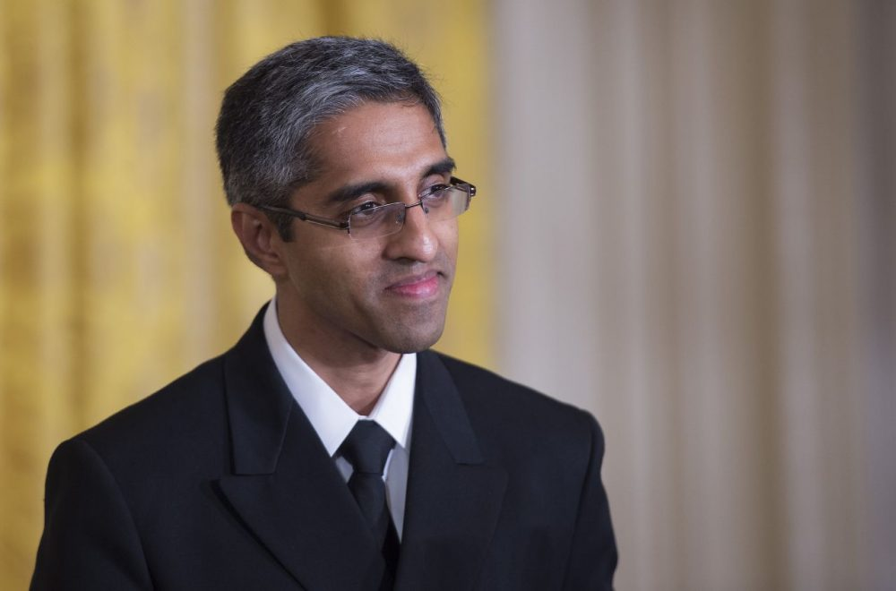 US Surgeon General Vivek Murthy issued his 'Call To Action' initiative on Wednesday. (Jim Watson/AFP/Getty Images)