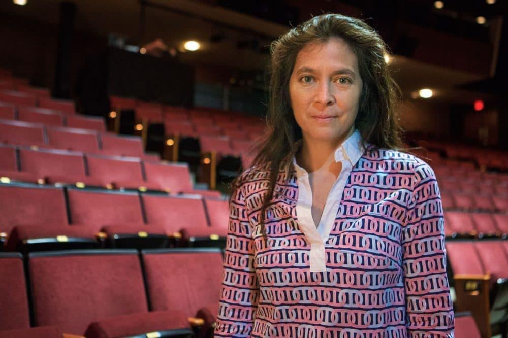 Diane Paulus, the American Repertory Theater's artistic director. (Jesse Costa/WBUR)