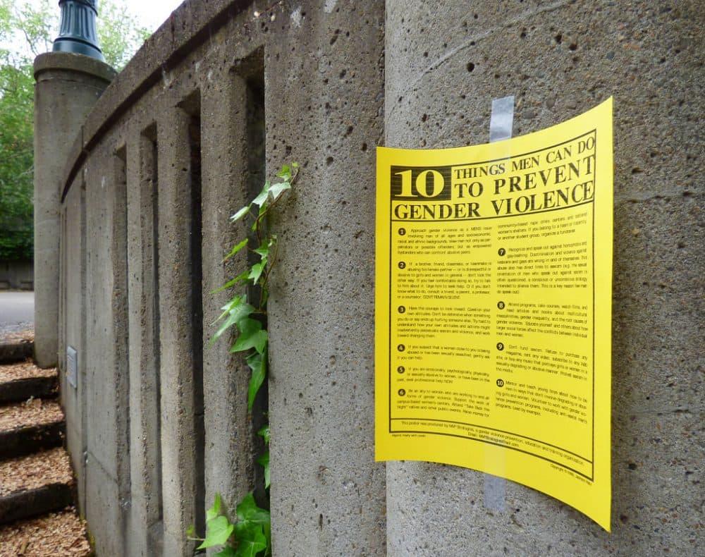 A newsletter on preventing gender violence at the University of Oregon. (PROWolfram Burner/Flickr)