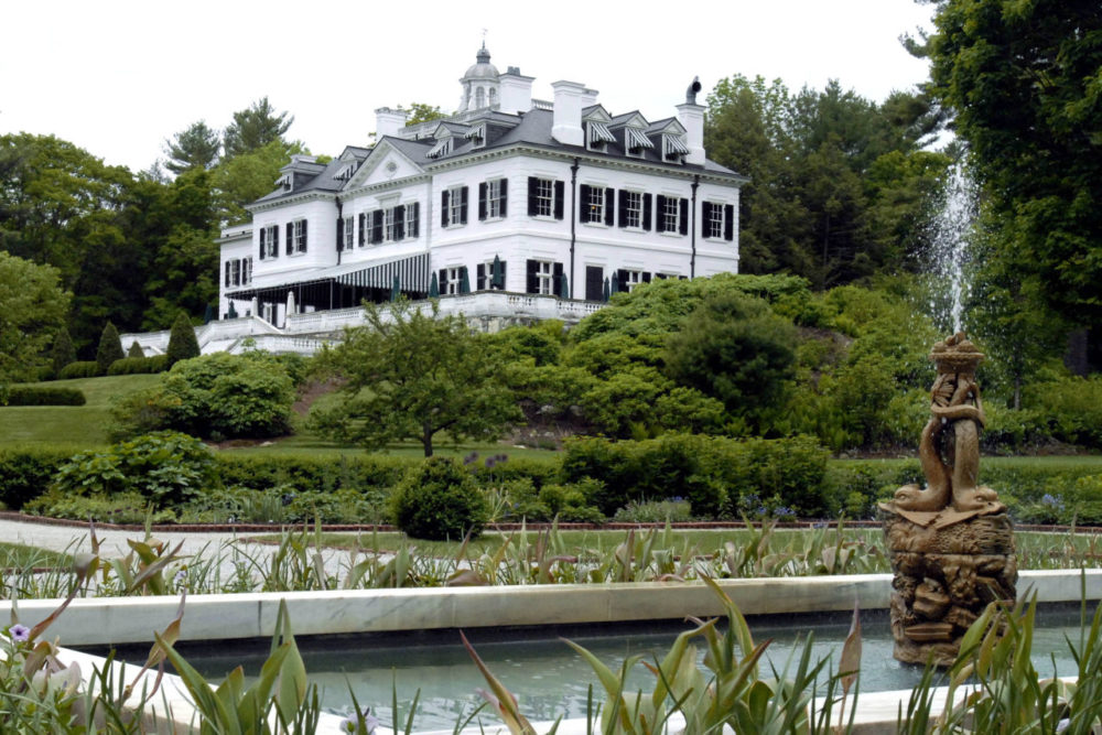 The Mount, Edith Wharton's home, is seen in Lenox, Mass. in 2008. (Jessica Hill/AP)
