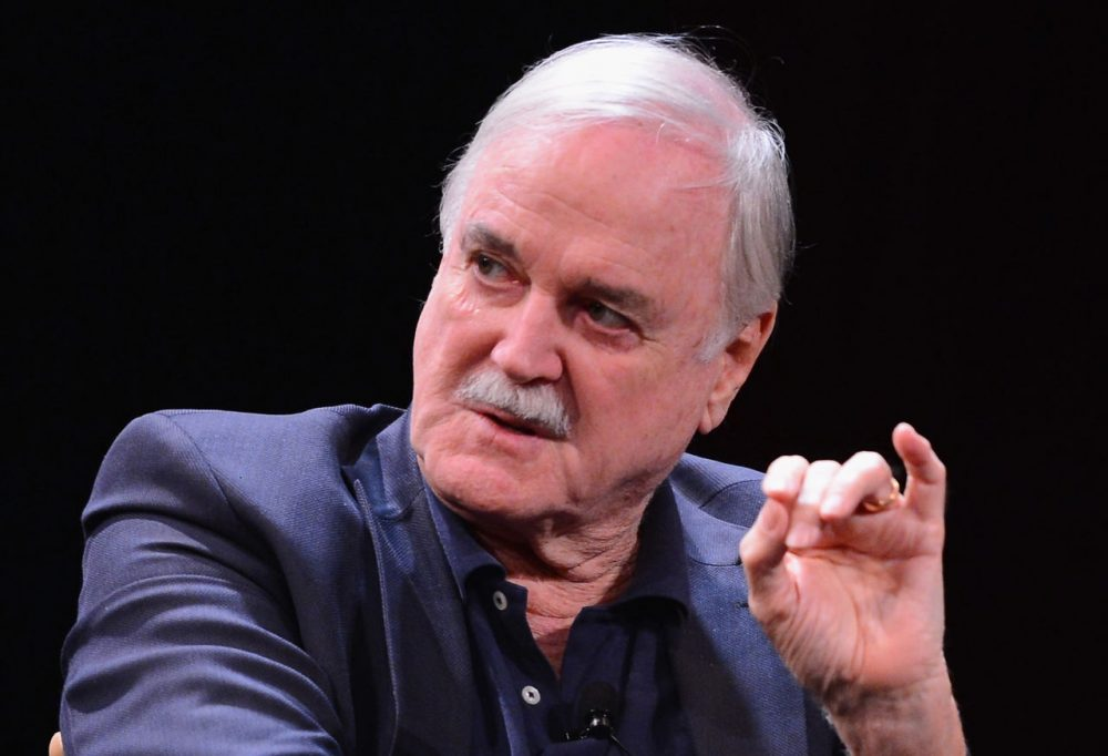 John Cleese attends the Monty Python Press Conference during the 2015 Tribeca Film Festival at SVA Theater on April 24, 2015 in New York City.  (Stephen Lovekin/Getty Images for the 2015 Tribeca Film Festival)