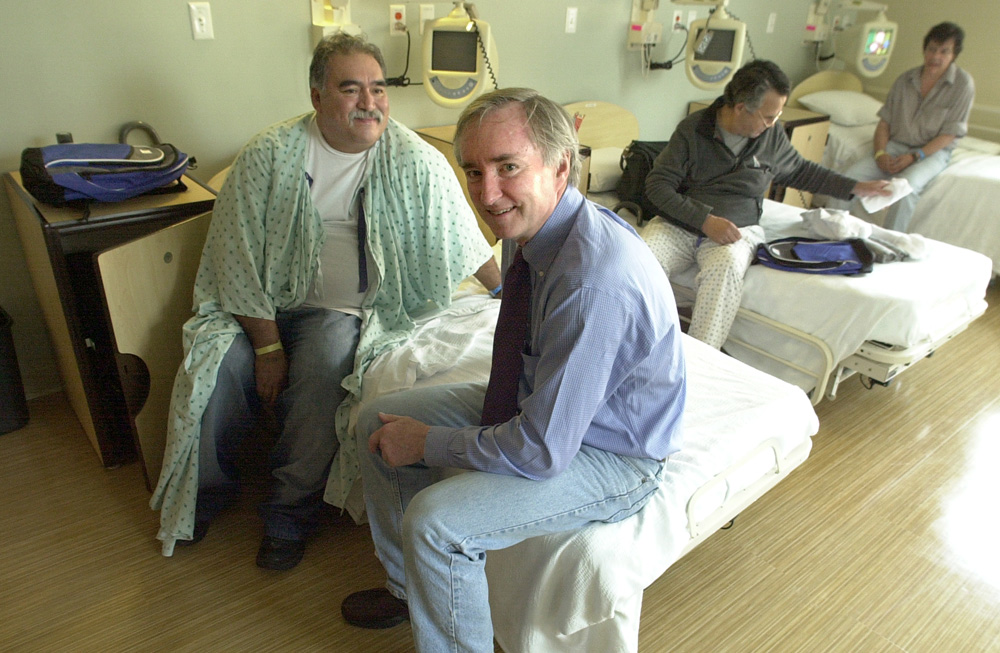 """Jim O'Connell's book """"Stories from the Shadows"""" focuses on the patients and health care providers who have made a difference in his life. (Courtesy Jeff Loughlin)"""