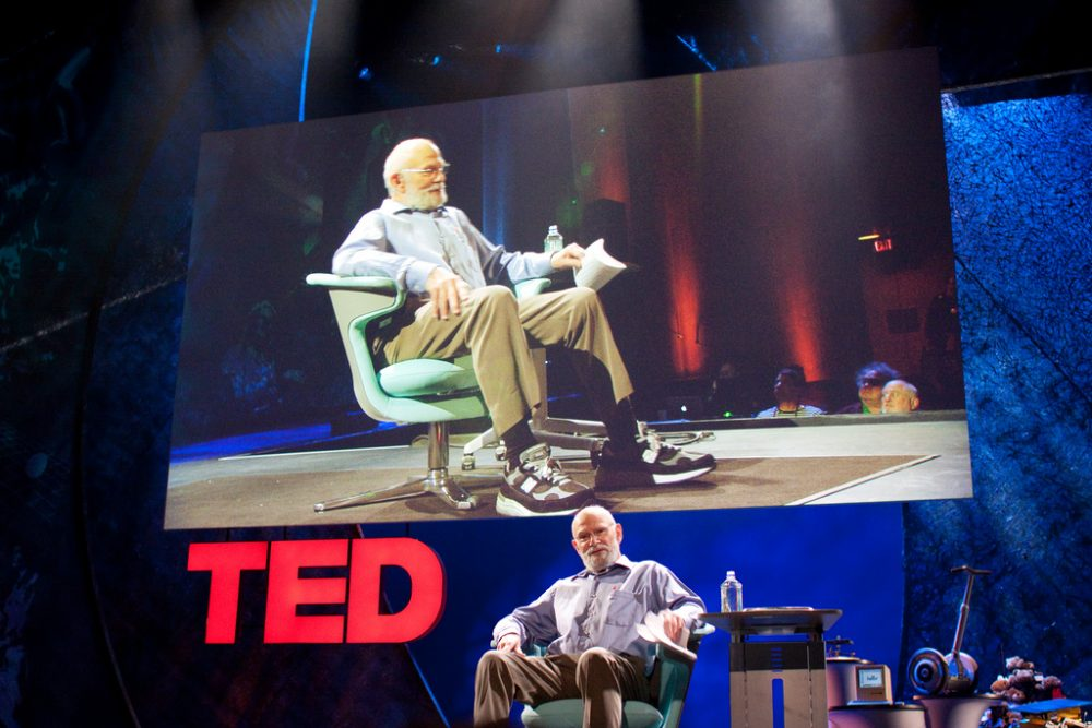 Oliver Sacks gave a TED Talk in 2009 on hallucinations. (Bill Holsinger-Robinson/Flickr}