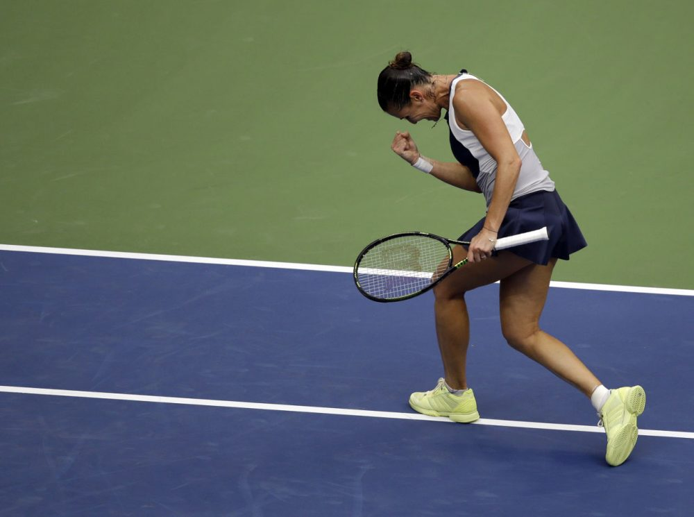 Flavia Pennetta announced her retirement, shortly after winning the U.S. Open and beating long-time friend Roberta Vinci. (Seth Wenig/AP)