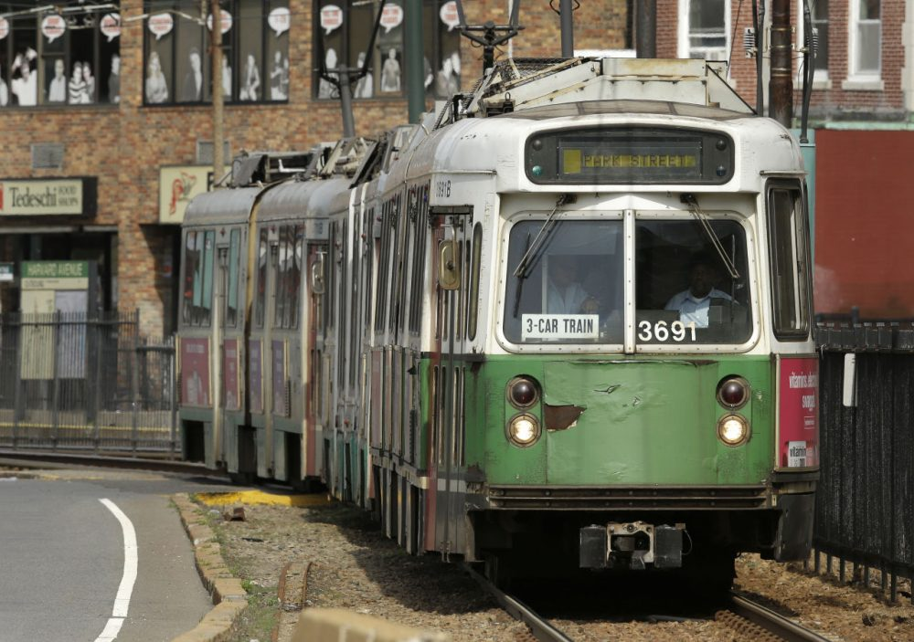 The MBTA fiscal control board was appointed by Governor Baker this year. (Steven Senne/AP)