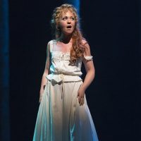 "McCaela Donovan as Petra in ""A Little Night Music."" (Courtesy T. Charles Erickson/Huntington Theatre Company)"