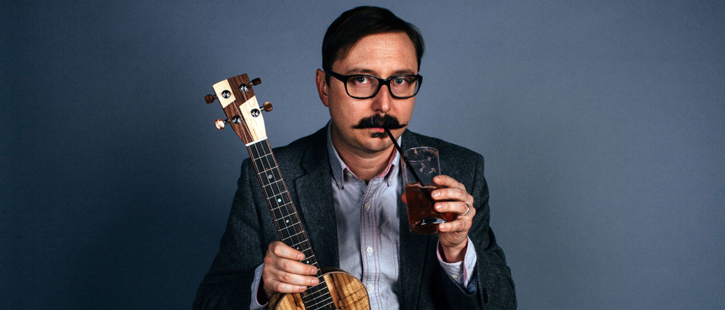 "Comedian John Hodgman, who prides himself on being the ""world's most famous John Hodgman impersonator,"" will be at the Wilbur Theatre Sept. 12. (Courtesy Shark Party Media)"